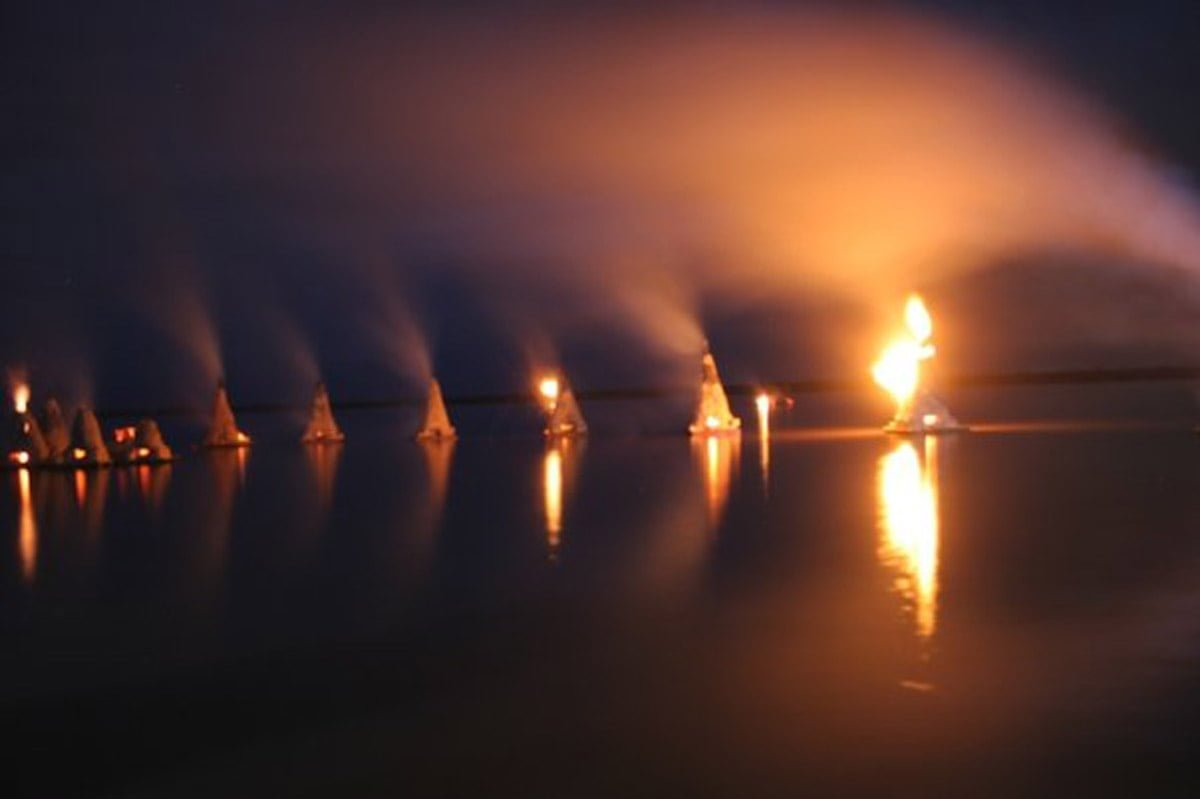Firings On The Lake 1
