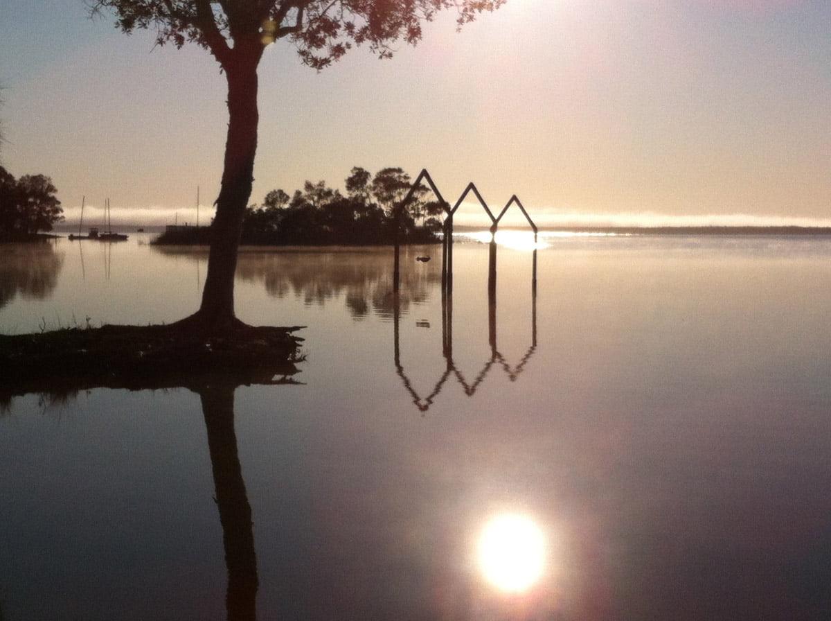 Shemple On Lake Cootharaba At Floating Land Festival