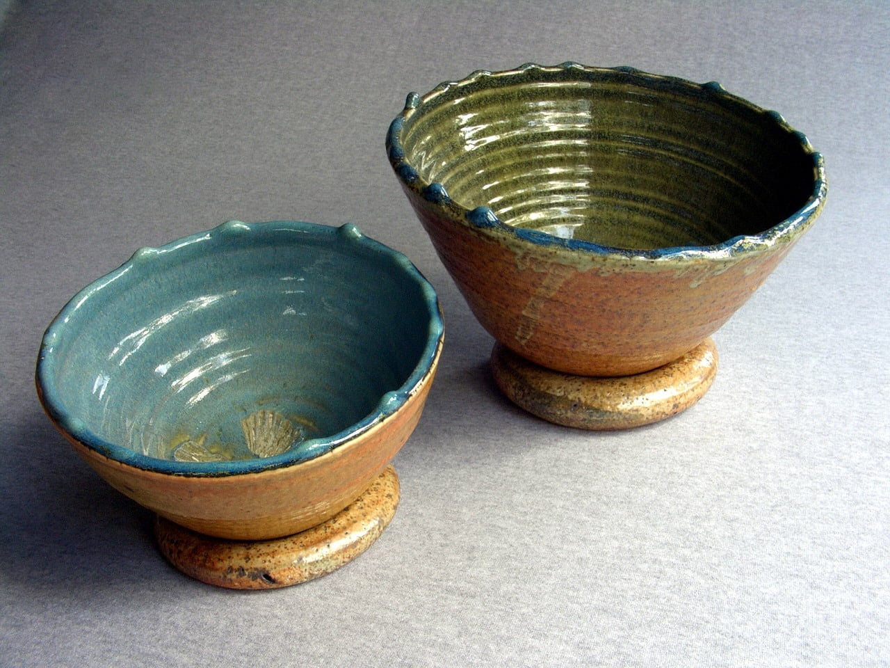 Handmade Woodfired Ceramics Bowls