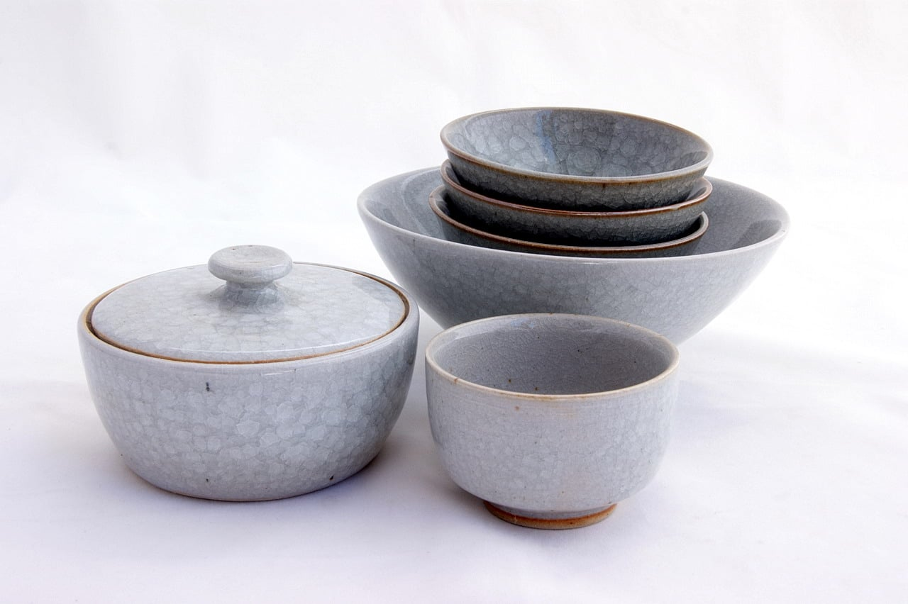 Selection Of Handmade Ceramics